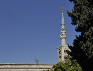 Jesus Minaret of Great Mosque of Damascus (Photo by Don Knebel)