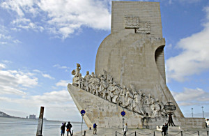 Lisbon's Monument to Discovery (Photo by Don Knebel)