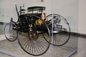 First Automobile in Deutsches Museum (Photo by Don Knebel)