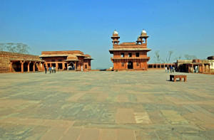 Hall of Private Audiences at Fatehpur Sikri (Photo by Don Knebel)