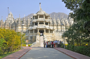 Jain Temple at Ranakpur (Photo by Don Knebel)