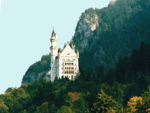 Southwestern View of Neuschwanstein (Photo by Don Knebel)