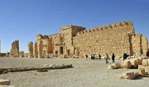 Perimeter Wall of Temple of Ba'al in Palmyra (Photo by Don Knebel)