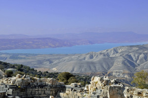 Sea of Galilee from Gadara (Photo by Don Knebel)