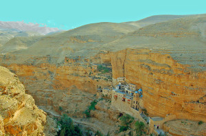 St. George's Monastery in Wadi Qelt (Photo by Don Knebel)