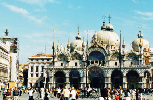 Basilica of St. Mark in Venice (Photo by Don Knebel)