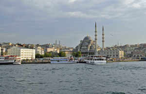 Istanbul Harbor (Photo by Don Knebel)