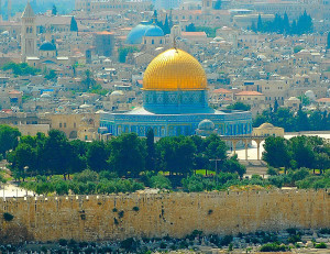 Jerusalem's Sacred Domes (Photo by Don Knebel)