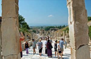 Main Street in Ephesus (Photo by Don Knebel)