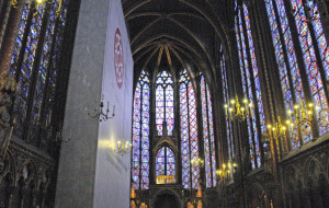 Second Floor of Sainte Chapelle (Photo by Don Knebel)