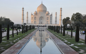 The Taj Mahal at Dusk (Photo by Don Knebel)