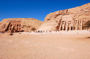 Temples at Abu Simbel (Photo by Don Knebel)
