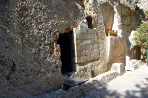The Garden Tomb in Jerusalem (Photo by Don Knebel)