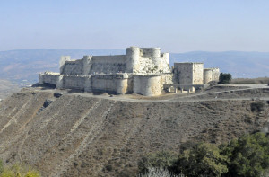 Crac des Chevaliers near Homs, Syria (Photo by Don Knebel)