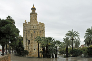 Torre del Oro in Seville, Spain (Photo by Don Knebel)