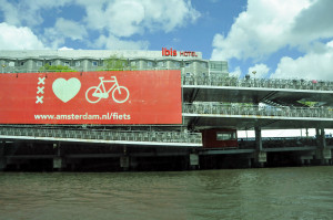 Bicycle Parking Flat in Amsterdam (Photo by Don Knebel)