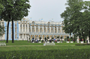 Catherine's Palace, near St. Petersburg, Russia (Photo by Don Knebel)
