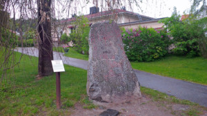Runestone in Sigtuna, Sweden (Photo by Don Knebel)