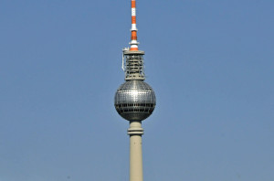 Broadcast Tower in Berlin, Germany (Photo by Don Knebel)
