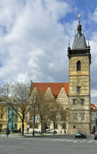 New Town Hall in Prague (Photo by Don Knebel)