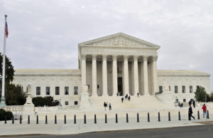 Western Façade of U. S. Supreme Court Building (Photo by Don Knebel)
